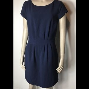 Madewell navy blue sheath dress size 2